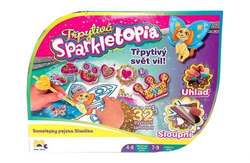MPK Toys sparkletopia samolepky pejsek/sluníčko