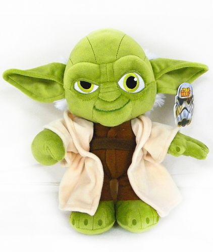 ADC Blackfire plyšová figurka STAR WARS Yoda 25 cm