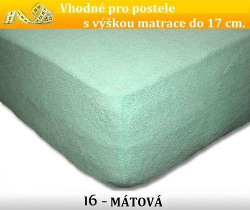 FIT 16 MÁTOVÉ froté prostěradlo