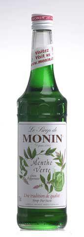 Monin Menthe Verte zelená máta 0,7 l