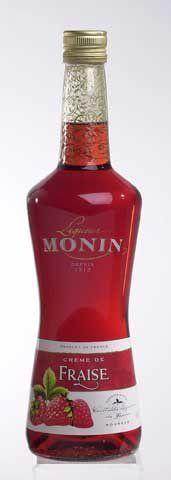 Monin Fraise Liqueur 0,7 l