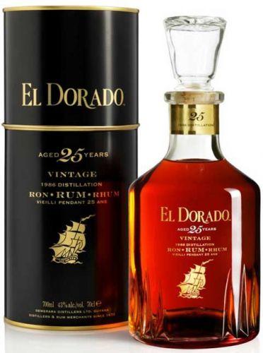 El Dorado 25 let 0,7 l