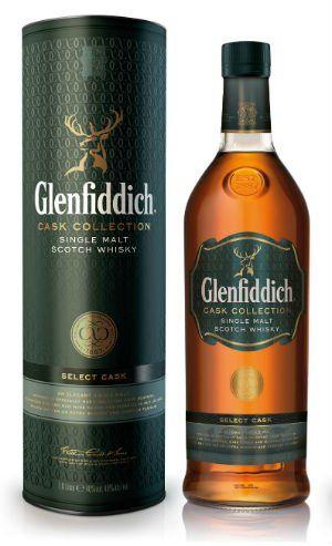 Glenfiddich Cask Collection Select Cask 1 l cena od 1190 Kč