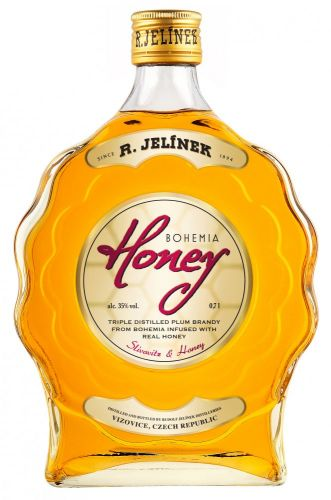 RUDOLF JELÍNEK Bohemia Honey 0,7 l cena od 378 Kč