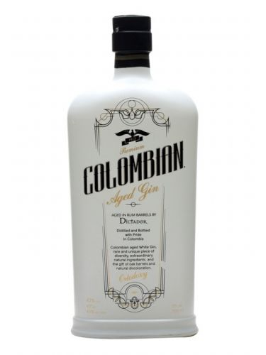 Colombian Aged Gin Ortodoxy White 0,7 l