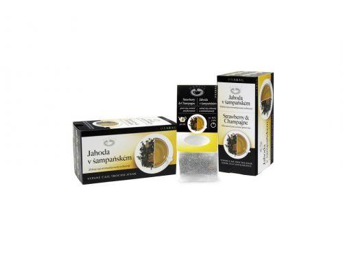 OXALIS Jahoda v šampaňském zelený čaj OXABAG 40 g cena od 86 Kč