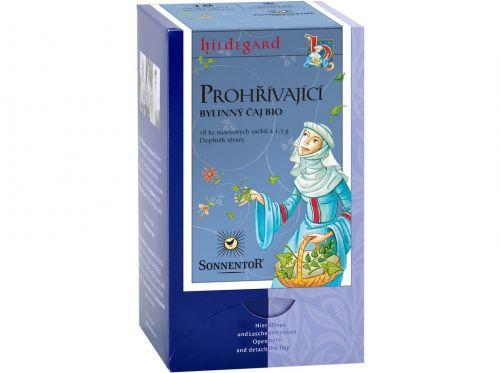 SONNENTOR Prohřívací čaj Hildegarda bio bylinný čaj porcovaný s kořením 23,4 g cena od 70 Kč