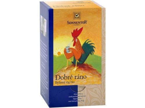 SONNENTOR Dobré ráno bylinný čaj bio porcovaný 27 g cena od 69 Kč