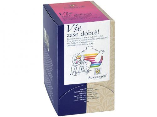 SONNENTOR Vše zase dobré! Ochutnej! bio bylinný porcovaný čaj dvoukomorový 30 g