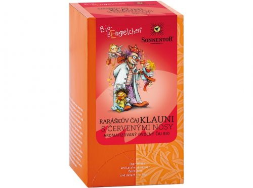 SONNENTOR Raráškův čaj Klauni s červenými nosy bio sypaný 40 g cena od 69 Kč