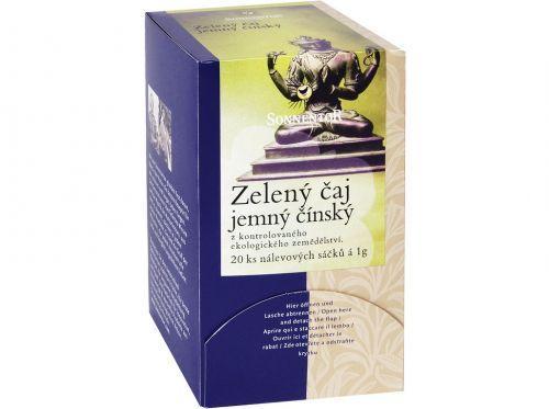 SONNENTOR Zelený čaj jemný čínský bio porcovaný 27 g cena od 71 Kč