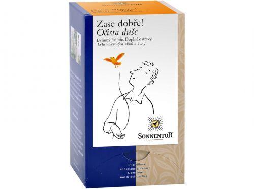 SONNENTOR Očista duše bio bylinný porcovaný čaj dvoukomorový 27 g cena od 76 Kč