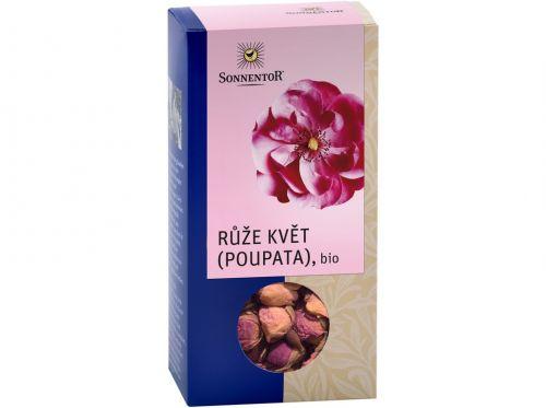 SONNENTOR Růže květ (poupata) BIO sypaný 30 g
