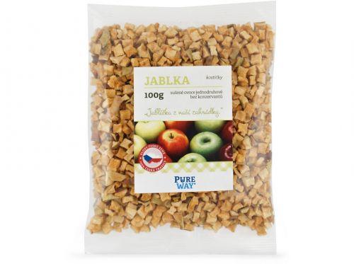 Pure Way Jablka kostičky 100 g