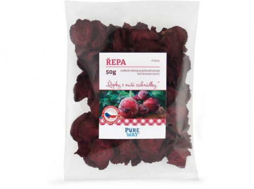 Pure Way Červená řepa chipsy 50 g