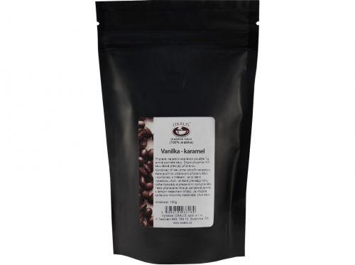 OXALIS Káva Vanilka karamel 150 g cena od 109 Kč