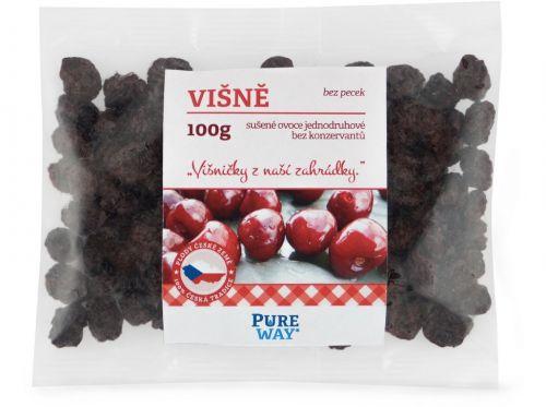 Pure Way Višně vypeckované 100 g cena od 79 Kč