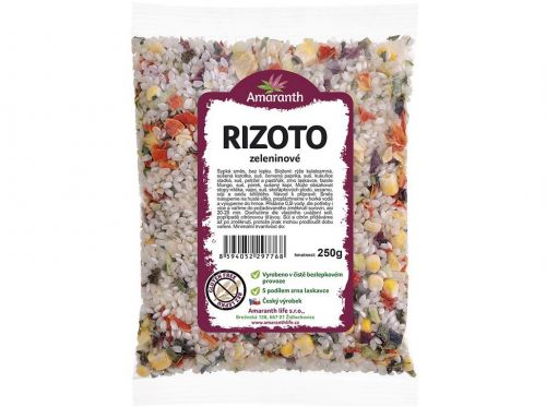 Amaranth life Rizoto zeleninové 250 g