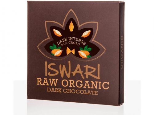 Iswari Čokoláda Dark Intense 85% 75 g cena od 0 Kč
