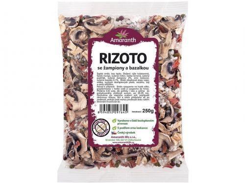 Amaranth life Rizoto se žampiony a bazalkou 250 g