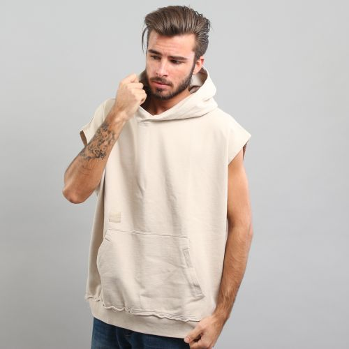 Cayler & Sons BL On Top Drobshoulder Sleeveless Hoody mikina