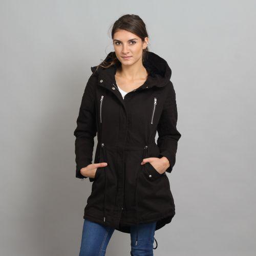 Urban Classics Ladies Sherpa Lined Cotton Parka bunda