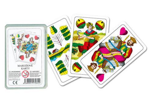 RAPPA karty mariášové dvouhlavé