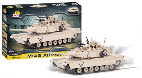 COBI Small Army M1A2 Abrams 765 k, 1 f