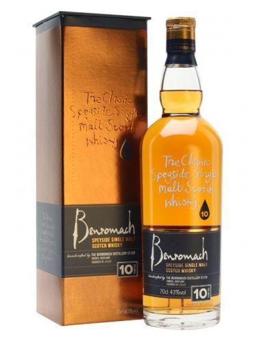 BENROMACH 10 let 0,7 l