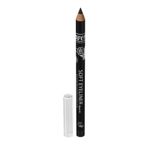 Lavera Přírodní tužka na oči černá 1,15 g