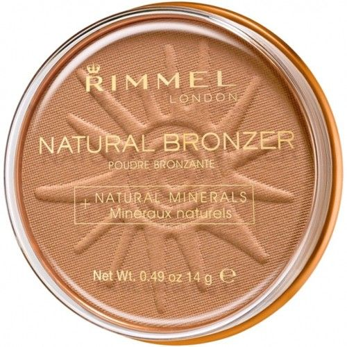 Rimmel Bronzující pudr Natural Bronzer 022 Sun Bronze 14 g