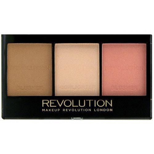 Makeup Revolution Rozjasňující konturovací sada na obličej nejsvětlejší C01 11 g