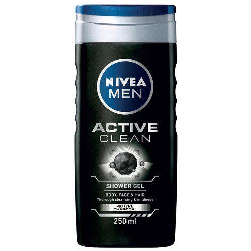 Nivea Sprchový gel pro muže Active Clean 250 ml