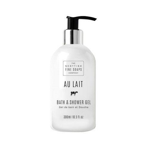 Scottish Fine Soaps Koupelový a sprchový gel Au Lait 300 ml
