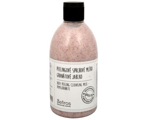 Sefiros Peelingové sprchové mléko Granátové jablko (Body Peeling Cleansing Milk) 500 ml