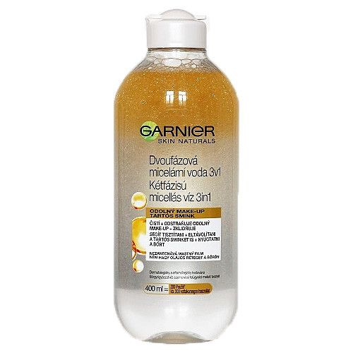 Garnier Dvoufázová micelární voda Skin Naturals 400 ml