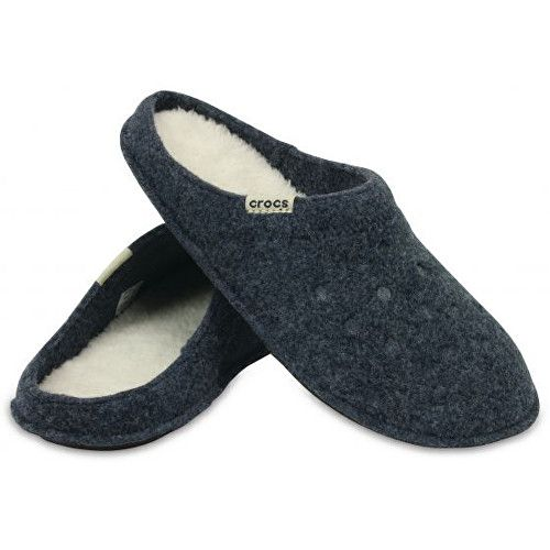 Crocs Classic Slipper Candy Nautical Navy/Oatmeal 3 boty