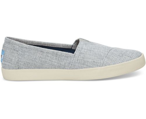 TOMS Slip-On Drizzle Grey Lurex Woven Avalon boty