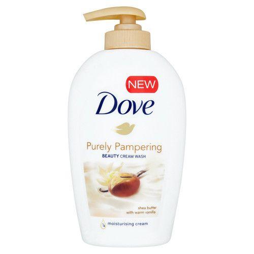 Dove Tekuté mýdlo s bambuckým máslem a vanilkou Purely Pampering (Beauty Cream Wash) 250 ml