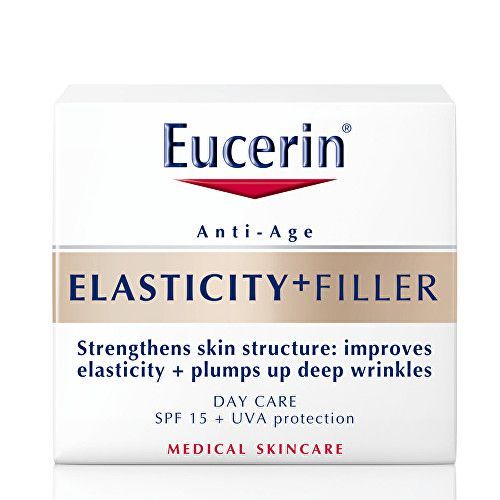 Eucerin Denní krém proti vráskám SPF 15 Elasticity+Filler 50 ml