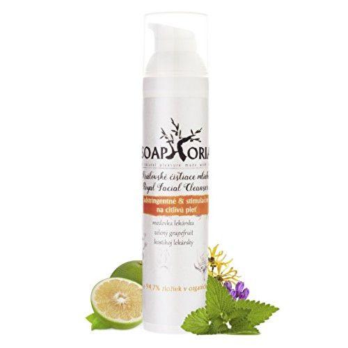 Soaphoria Adstringentní & stimulační čistící mléko (Royal Facial Cleanser) 100 ml