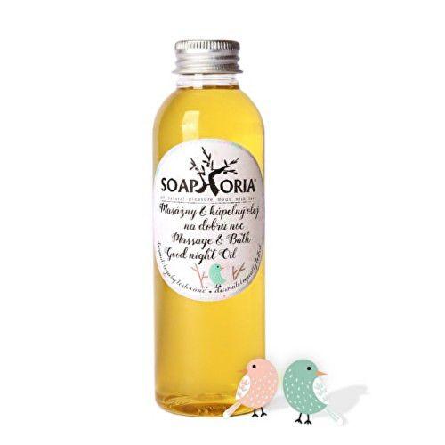 SOAPHORIA Organický masážní & lázeňský olej na dobrou noc Babyphoria 150 ml