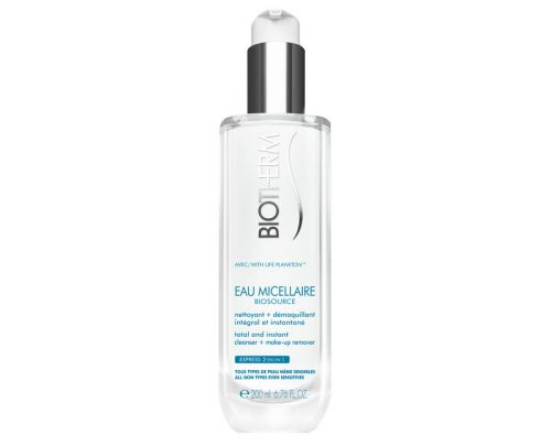 Biotherm Čistící micelární voda Biosource Eau Micellaire (Total & Instant Cleaner Make-Up Remover) 200 ml