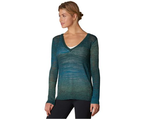 Prana Julien Sweater Deep Teal svetr