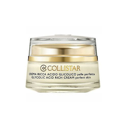 Collistar Pleťový krém s kyselinou glykolovou Perfecta (Pure Actives Glycolic Acid Rich Cream Perfect Skin) 50 ml