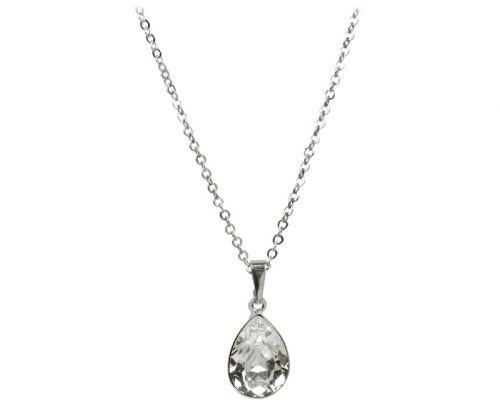 Troli Pear Crystal náhrdelník