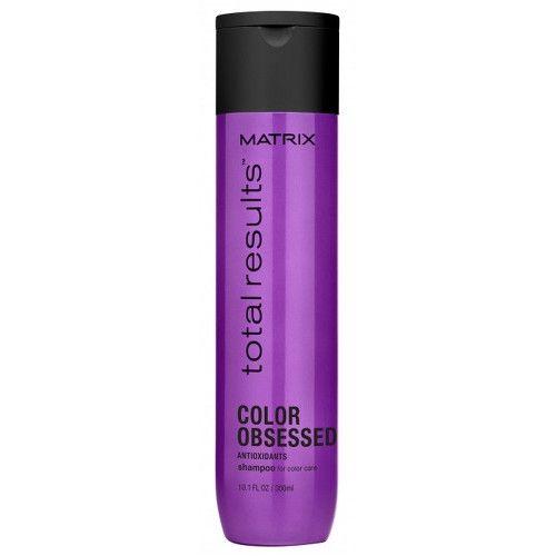 Matrix Šampon pro barvené vlasy Total Results Color Obsessed (Shampoo for Color Care) 300 ml cena od 99 Kč