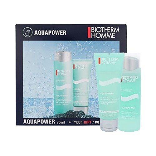 Biotherm Homme Aquapower Oligo Thermal hydratační krém 75 ml + sprchový gel 75 ml
