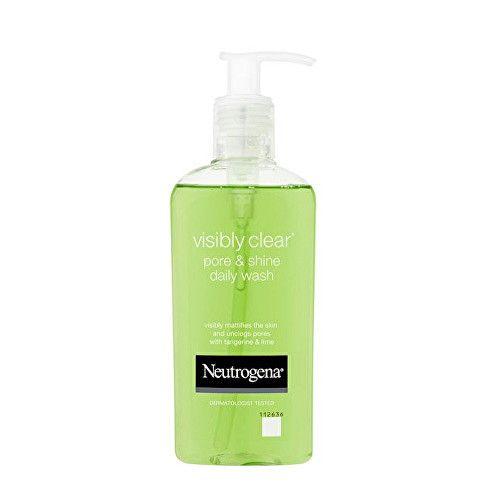 Neutrogena Čistící gel Visibly ClearPore & Shine (Daily Wash) 200 ml