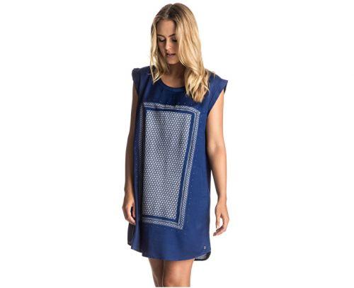 Roxy Sun Rays Blue Print top